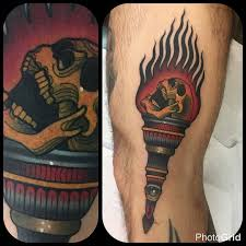 Torch Tattoo Meaning 24