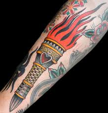 Torch Tattoo Meaning 26