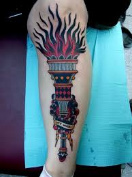 Torch Tattoo Meaning 34