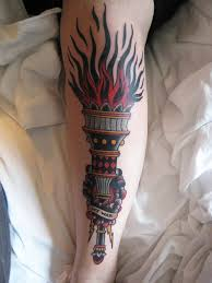 Torch Tattoo Meaning 44