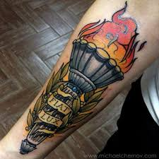 Torch Tattoo Meaning 45
