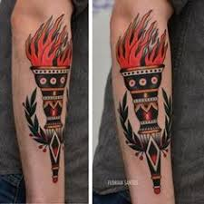 Torch Tattoo Meaning 6