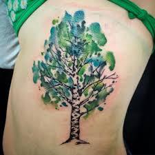 Birch Tree Tattoo Meaning 24