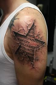3ea6b4448b6b4 What Does Brick Wall Tattoo Mean?   45+ Ideas and Designs