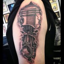 Gear Tattoo Meaning 10