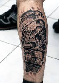 Gear Tattoo Meaning 11
