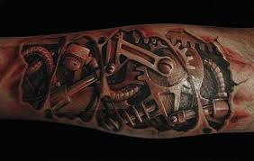 Gear Tattoo Meaning 14