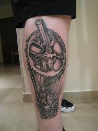 Gear Tattoo Meaning 17