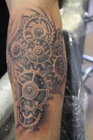 Gear Tattoo Meaning 23