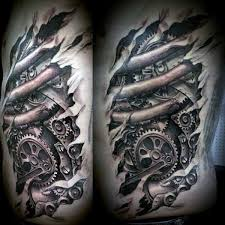 What Does Gear Tattoo Mean Represent Symbolism