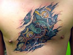Gear Tattoo Meaning 32