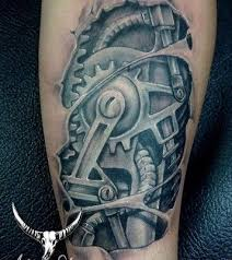 Gear Tattoo Meaning 34