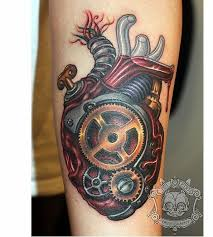 Gear Tattoo Meaning 40
