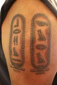 Hieroglyphics Tattoo Meaning 4