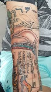 Hieroglyphics Tattoo Meaning 42