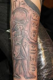 Hieroglyphics Tattoo Meaning 46