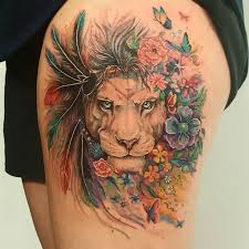 Leo Tattoo Meaning 45