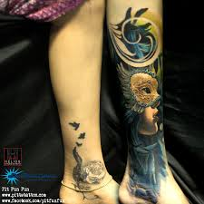 Masquerade Mask Tattoo Meaning 17