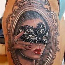 Masquerade Mask Tattoo Meaning 18