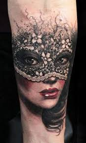Masquerade Mask Tattoo Meaning 2