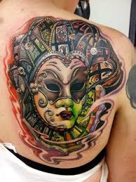 Masquerade Mask Tattoo Meaning 24