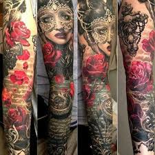 Masquerade Mask Tattoo Meaning 25