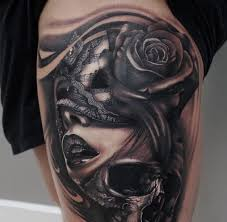 Masquerade Mask Tattoo Meaning 29