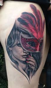 Masquerade Mask Tattoo Meaning 3