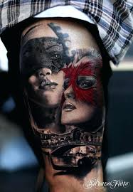 Masquerade Mask Tattoo Meaning 32