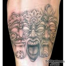 Masquerade Mask Tattoo Meaning 33
