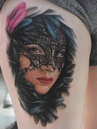 Masquerade Mask Tattoo Meaning 35