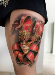 Masquerade Mask Tattoo Meaning 38