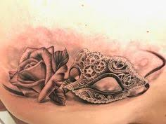 Masquerade Mask Tattoo Meaning 41