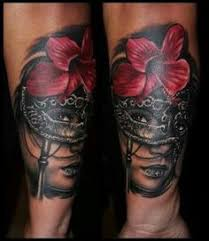 Masquerade Mask Tattoo Meaning 42