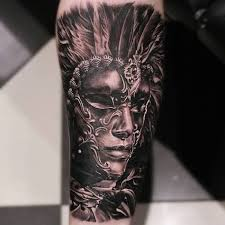 Masquerade Mask Tattoo Meaning 43