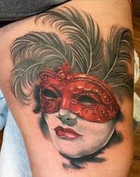 Masquerade Mask Tattoo Meaning 8
