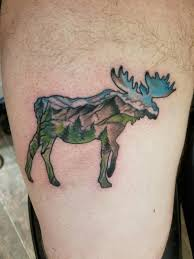 Moose Tattoo Meaning 13