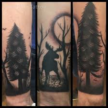 Moose Tattoo Meaning 14
