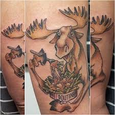 Moose Tattoo Meaning 16