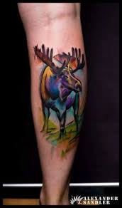 Moose Tattoo Meaning 2