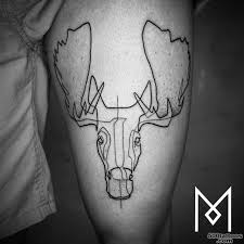 Moose Tattoo Meaning 21