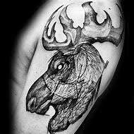 Moose Tattoo Meaning 31