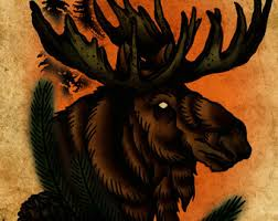 Moose Tattoo Meaning 35