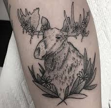 Moose Tattoo Meaning 36