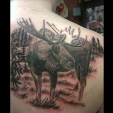 Moose Tattoo Meaning 4