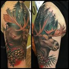 Moose Tattoo Meaning 46