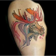Moose Tattoo Meaning 6