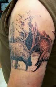Moose Tattoo Meaning 7