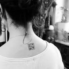 Square Tattoo Meaning 11