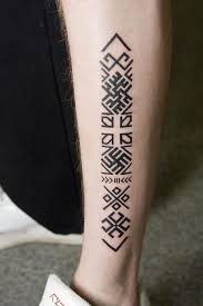 Square Tattoo Meaning 13